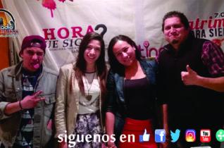 Josh, Vanessa, Doraly y Toño (Invox Deus)