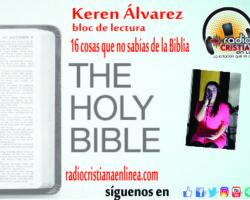 16 cosas que no sabías de la Biblia